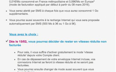 Bouygues Telecom Hors Forfait